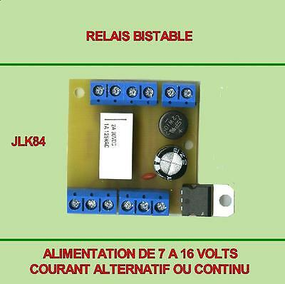 Lot De 3 Modules Relais Bistable • 27€
