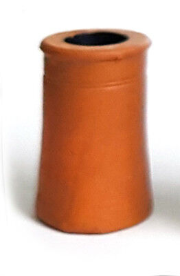 TD01 Small Round Chimney Pot 3d Printed 1/24th Scale Model Railway Or Doll House • 4.89€