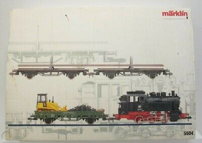 Märklin 5504 Set Mercancias DB + OVP • 325€