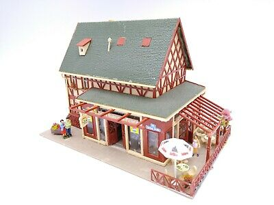 Vollmer Restaurant / Pizzeria (Figures Included) - OO/HO - (see Description) • 28.24€