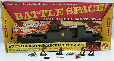 Army : Battle Space Anti-aircraft Searchlight Wagon Made By Tri-ang (by) • 89.38€