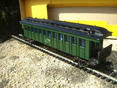 Triang Hornby Att R801 Old Time Coach Pullman Green Rare Export For Us Market!! • 25.70€
