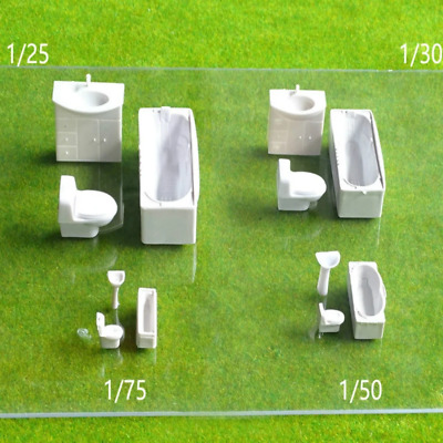 Bathroom Furniture Set 5 Pack 1:25 1:30 1:50 1:75 • 17.94€