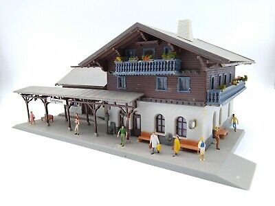 Faller Station With Figures Included - OO/HO - (see Description) • 43.68€