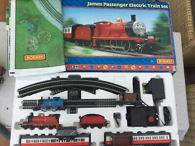 Hornby Thomas And Friends James Passenger Electric Train Set Plus Extras • 166.71€