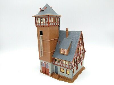 Vollmer Fire Station - OO/HO - Very Good Condition (see Description) • 32.76€