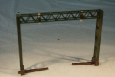 TRIANG / HORNBY Overhead Catenary Wire DOUBLE TRACK MAST Green- 'OO / HO' SET A • 19.67€