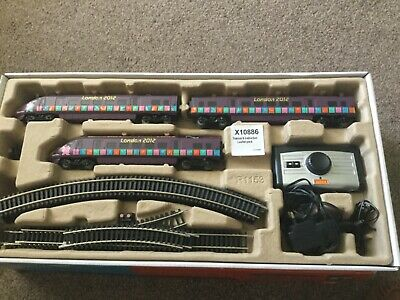 Hornby 2012 Olympic Train Set With Track Mat • 116.39€