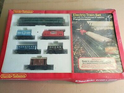 Hornby Freightmaster Electric Train Set 00 Gauge • 27.09€