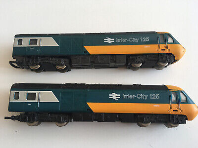 HORNBY OO Gauge Inter-City 125 43010/43011 POWER CAR +DUMMY Used Runs But Only J • 16.88€