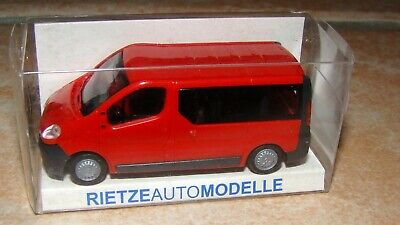 RENAULT Trafic Rouge HO-1/87-RIETZE 11370 • 7€