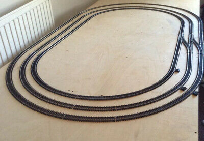 Job Lot Of Hornby Oo Gauge Track, Enough To Create 3 X Ovals V.g.c. • 135€