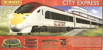 ** REDUCED** Hornby R1239 City Express  EMPTY BOX ONLY -  NO TRAINS, TRACK Etc • 5.66€