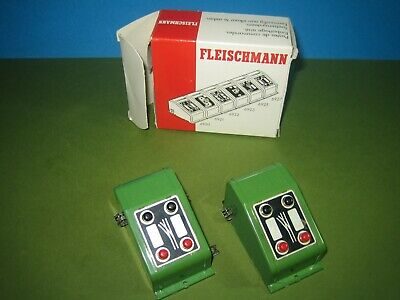 N Ho Oo Gauge Fleischmann 6920 Two Point Switches Boxed Unused #1 • 16.40€