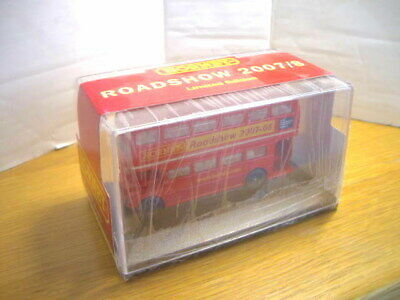 Triang Hornby R7096 Routemaster Double Decker Bus Roadshow 2007/8 Mint Bxd Rare! • 1.11€