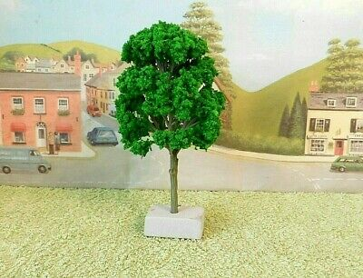 PACK Of  4  MODEL TREES ( Light Green ) For  Railway /Scenery 1/43 - O ( New ) • 6.74€