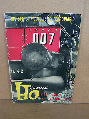 Rivarossi Catalogo Originale 1956 Brochure • 26€