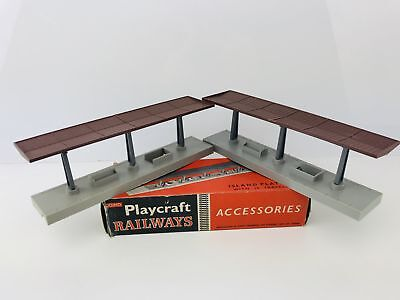 Playcraft Railways PR711 Two Island Platform With Original Box • 16.70€