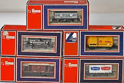 (776) Lima Rolling Stock 5 Pieces, Wagons New Other, Box • 30.62€