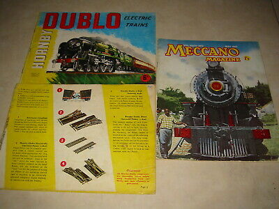 Hornby Dublo Electric Trains, Meccano Magazine May 1963 Vol Xlv111 No.5 Books • 5.57€
