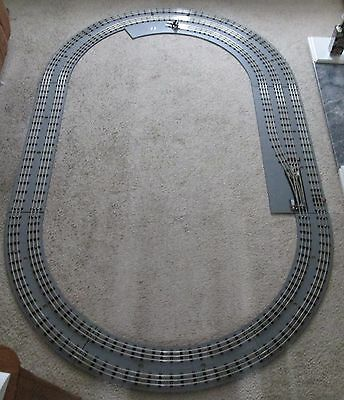 O Gauge Layout , 31.  Raduis Replica Hornby 3 Rail Track, Universal Scale • 727.09€