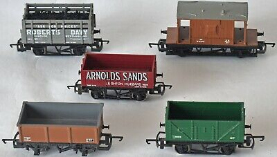 (1034) 5 X Hornby Rolling Stock, Wagons, Used • 29.05€