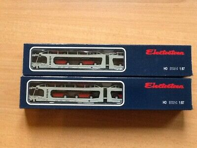 Pair Of Electrotren 6021 STVA With 8 Cars • 111.72€