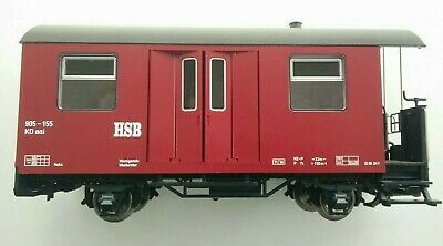 LGB 43520 HSB Harz Mountain Railway G Scale Baggage Coach • 23.87€