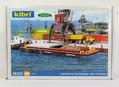 Bnib Oo Ho Gauge Kibri 38522 Barge Kit Push Barge With Removable Hatches • 30.57€