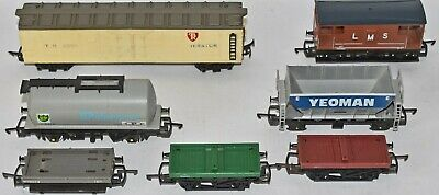 (1213) Quantity Of 7 Hornby &triang Rolling Stock Pre-owned • 28.90€