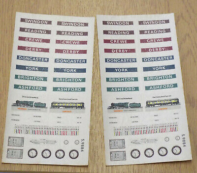 Hornby Station Transfers (2 Off) • 1.10€