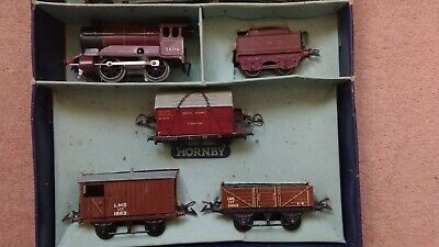 Vintage Hornby O Guage No. 5600 LMS Train Set With Box • 149.14€