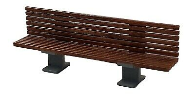 TD35 6 X  3D Printed Modern Benches O Scale Model Railway Scenics Unpainted • 18.69€