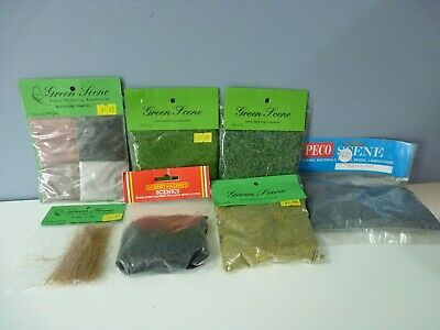 00 GAUGE. LAYOUT ACCESSORIES. GOOD MIX OF SCATTER Inc. PLANT STEMS  . [4] • 5.42€