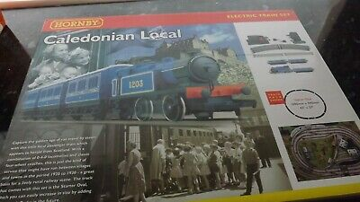 Hornby  Oo. 'caledonian  Local'  Train  Set.  New. • 127.47€