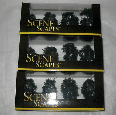 3 Packs Of Bachmann Scene Scape Maple Trees. Brand New Boxed. • 1.11€