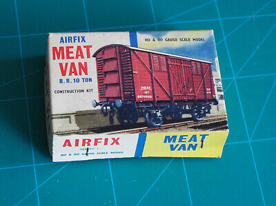 Airfix Meat Van Type 2 (blue Stripe) Box ONLY • 2.26€