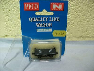 10t 7-Plank Open Wagon 'G.W' By PECO NR-41W 'N' Gauge Boxed & Unused, Excellent! • 1.45€