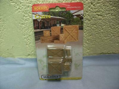 Packing Cases/Crates X 7 Skaledale By Hornby No R8597 '00' Gauge, Boxed & Unused • 1.14€