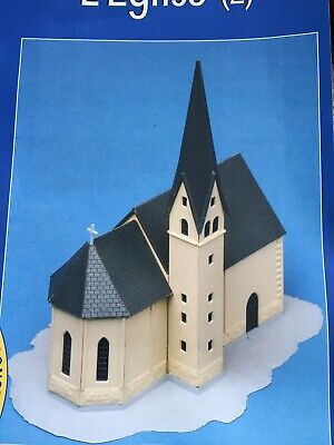 MKD Eglise HO Maquette Immeuble Maison Village De France # 12 & 13 FALLER • 15.99€