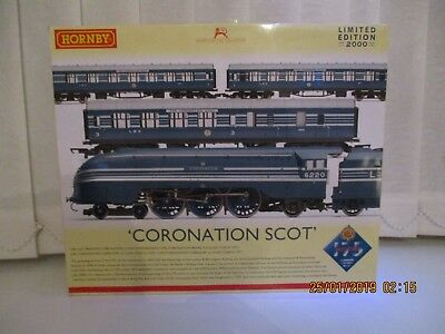 R3092 Hornby NEW Coronation Scot Train Pack • 217.85€