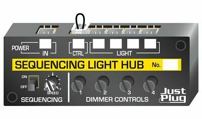 Woodland Scenics Just Plug Lighting System JP5680 Sequencing Light Hub • 27.76€