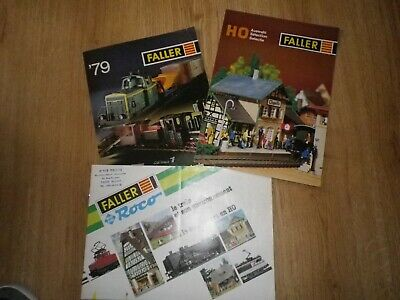 Catalogues Trains FALLER • 10€