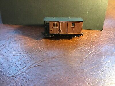 Egger Bahn.  Brown Brake Van • 18.18€