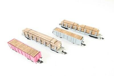 Marklin Z Gauge 82516 Wood Transport Swiss Freight Car • 67.02€