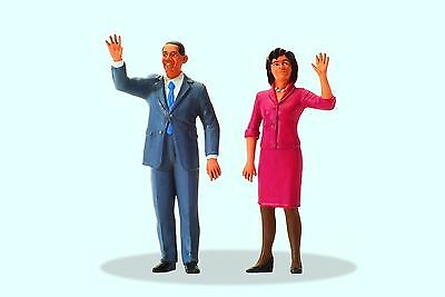 Preiser 57152 ; Präsident Obama And First Lady 1:24 • 22.50€