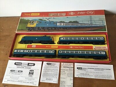 Triang Hornby Inter City Train Set R644A Excellent Working Lights • 125.98€