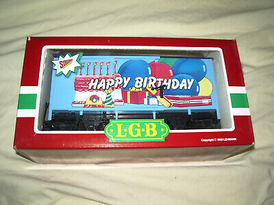 Wagon Happy Birthday Lgb 44352 Lehmann 1990 Neuf  • 49.99€