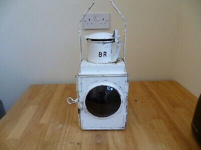 British Rail Lamp With Oil Burner 180 Including Postage • 89.85€
