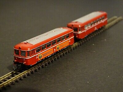 Marklin Z Gauge Jeagermeister Railcar And Trailer 8817 And 8831. Boxed  • 36€